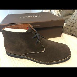 Florsheim Quinlan Jr Chukka Boot NIB Sz 5 gray
